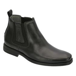 Botina Confort Premium Preto - Sapatos de Franca