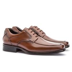 Sapato Social Masculino Kire Gel Em Couro Ref-1170... - Sapatos de Franca