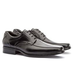Sapato Social Masculino Kire Gel Em Couro Ref-1171... - Sapatos de Franca