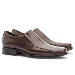 Sapato Social Masculino Kire Gel Em Couro Ref-1189... - Sapatos de Franca