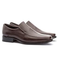 Sapato Social Masculino Kire Gel Em Couro Ref-3900... - Sapatos de Franca