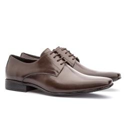 Sapato Social Masculino Leblon Em Couro Ref-693 Ca... - Sapatos de Franca