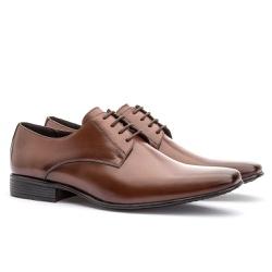 Sapato Social Masculino Leblon Em Couro Ref-693 Wh... - Sapatos de Franca