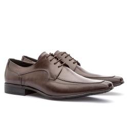 Sapato Social Masculino Leblon Em Couro Ref-695 Ca... - Sapatos de Franca