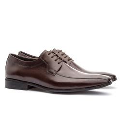 Sapato Social Masculino Stuart Em Couro Ref-2100 C... - Sapatos de Franca