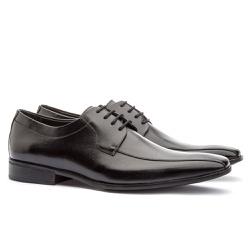 Sapato Social Masculino Stuart Em Couro Ref-2100 P... - Sapatos de Franca