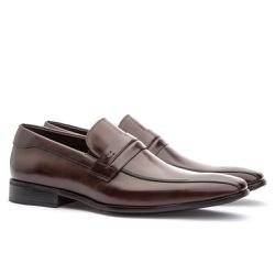 Sapato Social Masculino Stuart Em Couro Ref-2106 C... - Sapatos de Franca