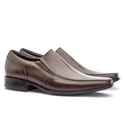 Sapato Social Masculino Veneza Em Couro Ref-170 Ca... - Sapatos de Franca