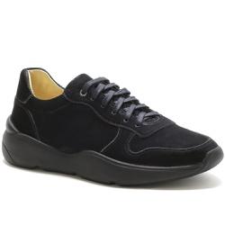 Tênis Masculino Casual Em Couro Nobuck Ref-45001 P... - Sapatos de Franca