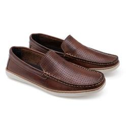 Sapato Mocassim Sândalo Omar Em Couro Latego Ref-5... - Sapatos de Franca