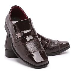 Sapato Social Infantil Masculino Em Verniz Schiare... - Schiareli Calçados