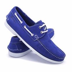 Mocassim 606 Azul Royal -... - Schiareli Calçados