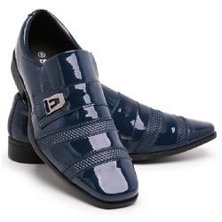 Sapato Social Masculino Em Verniz Schiareli 803 -... - Schiareli Calçados
