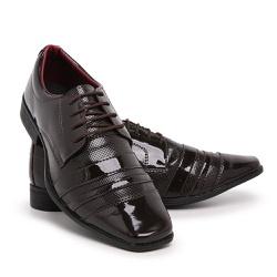 Sapato Social Masculino Em Verniz Schiareli 840 -... - Schiareli Calçados