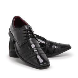 Sapato Social Masculino Em Verniz Schiareli 840 - ... - Schiareli Calçados