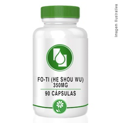 Fo-Ti (He Shou Wu) 350mg 90cápsulas - Seiva Manipulação | Produtos Naturais e Medicamentos