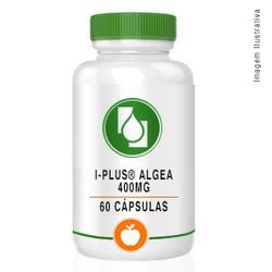 I-Plus® Algea 400mg 60cápsulas - Seiva Manipulação | Produtos Naturais e Medicamentos