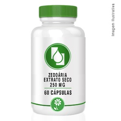 Zedoária Extrato seco 250mg 60cápsulas - Seiva Manipulação | Produtos Naturais e Medicamentos
