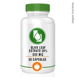 Olive Leaf Extrato 20% 500mg 60cápsulas - Seiva Manipulação | Produtos Naturais e Medicamentos