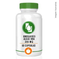 OmegaVie® Algae DHA 200mg 60cápsulas - Seiva Manipulação | Produtos Naturais e Medicamentos