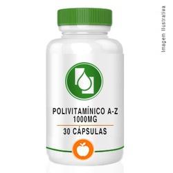 Polivitamínico A-Z 1000mg 30cápsulas - Seiva Manipulação | Produtos Naturais e Medicamentos
