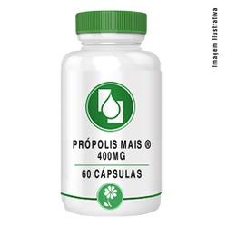 Própolis Mais ® 400mg 60cápsulas - Seiva Manipulação | Produtos Naturais e Medicamentos