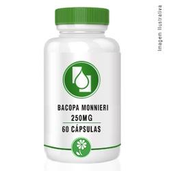 Bacopa Monnieri 250mg 60cápsulas - Seiva Manipulação | Produtos Naturais e Medicamentos