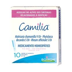 Camilia Solução oral 10 flaconetes Boiron - Seiva Manipulação | Produtos Naturais e Medicamentos