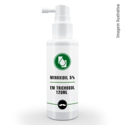 Minoxidil 5% em Trichosol 120ml - Seiva Manipulação | Produtos Naturais e Medicamentos