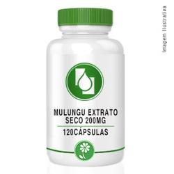 Mulungu Extrato seco 200mg 120cápsulas - Seiva Manipulação   Produtos Naturais e Medicamentos