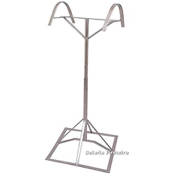 Suporte de Pedestal para Selas (com regulagem de altura) - Selaria Pinheiro