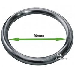 Argola para Laço em Aço Inox 60mm - Selaria Pinheiro