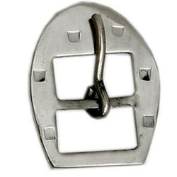 Fivela Ferradura para Travessão 44 mm Inox - Selaria Pinheiro