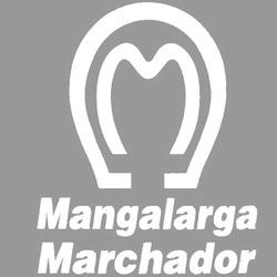 Adesivo Mangalarga M01 Grande (Branco) - Selaria Pinheiro