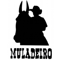 Adesivo Muladeiro M12 (Preto) - Selaria Pinheiro