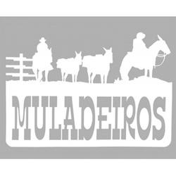 Adesivo Muladeiros M01 (Branco) - Selaria Pinheiro