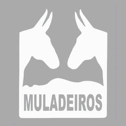 Adesivo Muladeiros M02 (Branco) - Selaria Pinheiro
