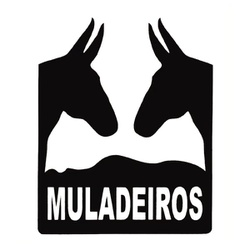 Adesivo Muladeiros M02 (Preto) - Selaria Pinheiro