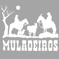 Adesivo Muladeiros M03 (Branco) - Selaria Pinheiro