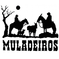 Adesivo Muladeiros M03 (Preto) - Selaria Pinheiro