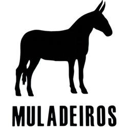 Adesivo Muladeiros M04 (Preto) - Selaria Pinheiro