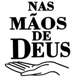 Adesivo Nas Mãos De Deus (Preto) - Selaria Pinheiro