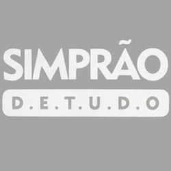 Adesivo Simprão De Tudo (Branco) - Selaria Pinheiro