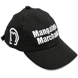 Boné Mangalarga M01 (preto) - Selaria Pinheiro
