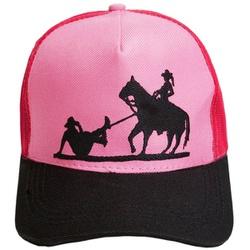 Boné Cowgirl Laçando Cowboy SCAP - Selaria Pinheiro