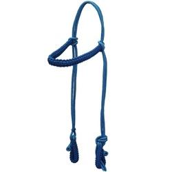 Cabeçada em Cordas Trançadas CB15 (Azul) - Selaria Pinheiro
