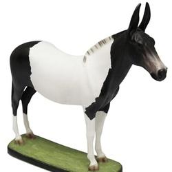 Escultura Miniatura de Mula Pampa - Selaria Pinheiro