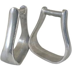 Estribo de Alumínio Polido SP10 - Selaria Pinheiro