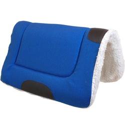 Manta Quarto de Milha (Azul) - Selaria Pinheiro