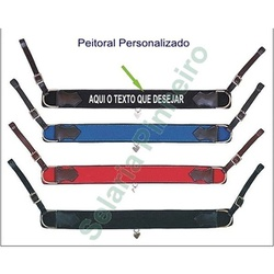 Peitoral Personalizado - Selaria Pinheiro
